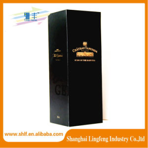 Manufacturer Custom Black Wine Paper Box