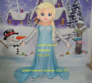 Frozen Princess Elsa Mascot Costume