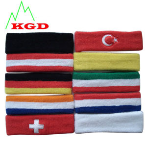 Colorful Sport Sweatband &Cotton Good&Promotional Sweatband