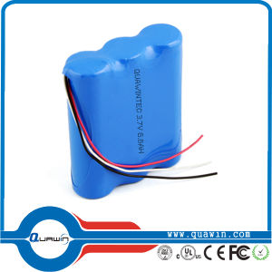 18650 Battery Pack / 3.7V 6.6ah Li-ion Battery Pack pictures & photos