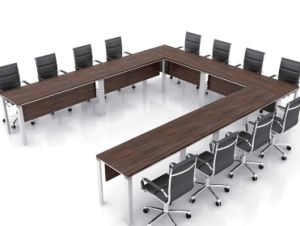 China Modern Large Room U Shape Persons Office Simple Design - U shaped conference table designs