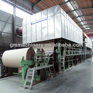 Linerboard Paper Making Machine, Cardboard Paper Making Machine pictures & photos