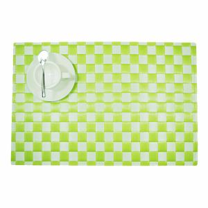 Two Colors PP Woven Placemat for Tabletop