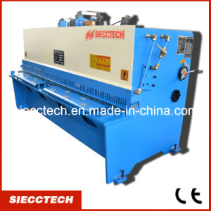 Favorites Compare QC12y Swing Beam Steel Cutter Machine, QC12y Metal Shear Machineqc12y Hydrualic Swing Beam Shearing Machine Swing Type Shears Cutting Machine pictures & photos