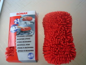 High Quality Microfiber Car Cleaning Sponge pictures & photos