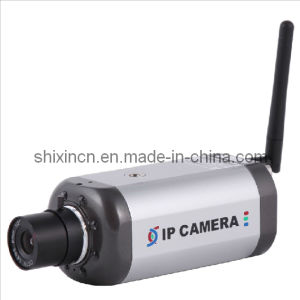 H. 264 420tvl Indoor Wireless Box IR Night IP Camera (IP-338HW) pictures & photos