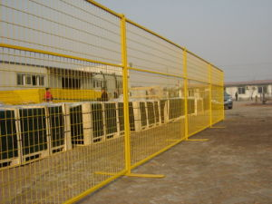 PVC Coated Temporary Construction Fencing to America (XMA006) pictures & photos