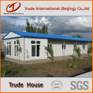 Prefabricated/Mobile/Modular Building/Prefab Sandwich Panesls Family House pictures & photos