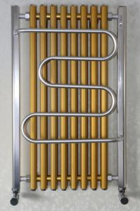 Aluminum Towel Radiator H1000mm