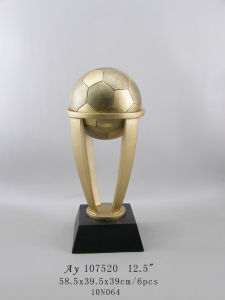 Customized Football Award with Resin Material pictures & photos