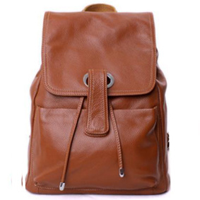 Fashion PU Leather Laptop Backpack (MD1167)