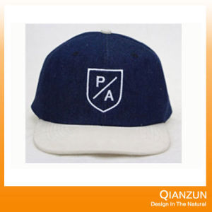 Suede Customed Trucker Snapback Caps pictures & photos