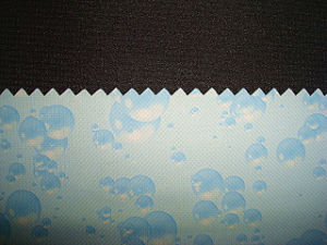 Polyester Cord Fabric with Print TPU Lamination Bonded Fabric pictures & photos