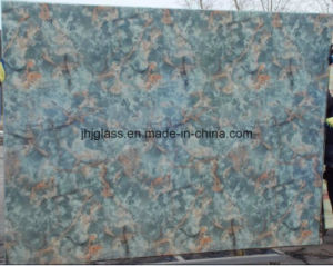 Marble Glass for Background, Kitchen Door and Decorating The Home pictures & photos