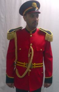Ceremony Jacket of Military Uniform