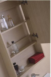 Hot Sale MDF Melamine Bathroom Vanity with Mirror Cabinet (SW-ML1203B) pictures & photos