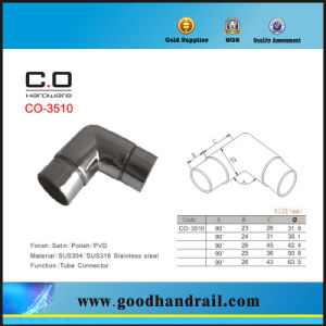 Stainless Steel Tube Connector Elbow Co-3510 pictures & photos