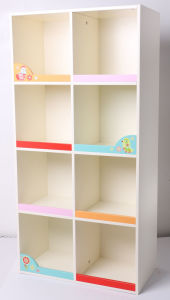 Factory Supply Wooden Storage Case Storage Container Kids Furniture Kids Cabinet pictures & photos