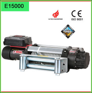 Zhme Truck Winch E 15000 12V with Wire Rope pictures & photos