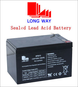 12V10ah Emegency Light Rechargeable Seal Battery pictures & photos
