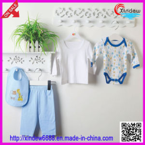 5 PCS Cotton Baby′s Clothes Set pictures & photos