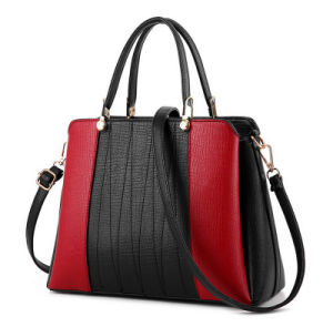 China 2017 Hot Handbags Latest Arrival Women Handbag Color Collision Bag