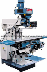 China Turret Milling Machine with Taiwan Milling Head pictures & photos