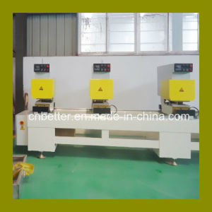 Three Head Seamless Color Profile Welding Machine, Plastic Window Machine, PVC Window Machine