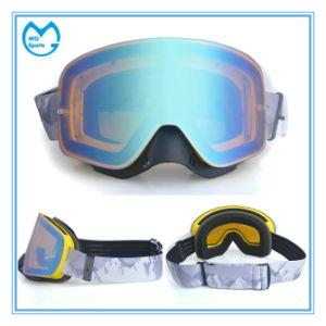db65afafd3 China Light Coated PC Dual Lens Safety Glasses Prescription Ski Mask ...