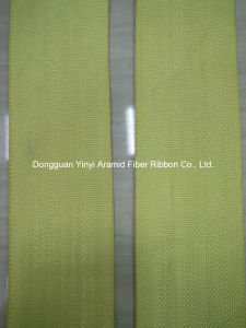 Flaming Retarding Aramid Fiber Webbing for Industry pictures & photos