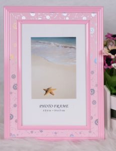 Plastic Back Open Photo Frame (BH-5) pictures & photos