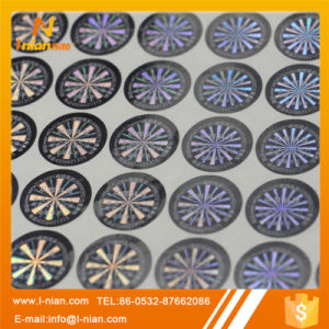 Self Adhesive Anti Counterfeit Holographic Label