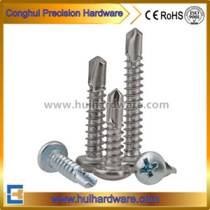 Zinc Plated Cross Pan Head Self Drilling Screw (DIN7504N) pictures & photos