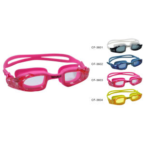 Silicone Swimming Goggle (CF-3600) pictures & photos