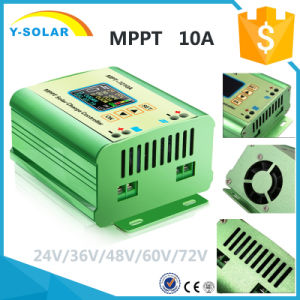 72V/60V/36V/48V/24V MPPT-10AMP Li-Battery Solar Regulator Mpt-7210A