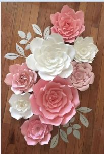 China Paper Wedding Flowers Paper Wall Flowers China Decoration
