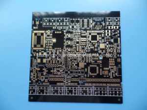 4 Layer Printed Circuit Board PCB with Black Solder Mask