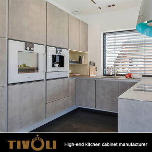 Plywood Cupboard Online Italian Modern Kitchen Design with Hinges TV-0189