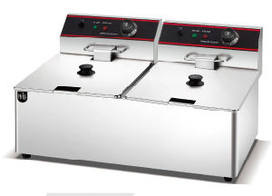 Electric 2-Tank Fryer PT-8L-2