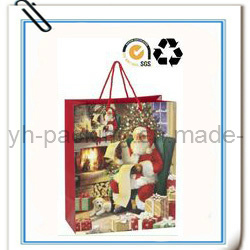 Eco-Friendly Paper Hand Gift Bag for Christmas (YH-026)
