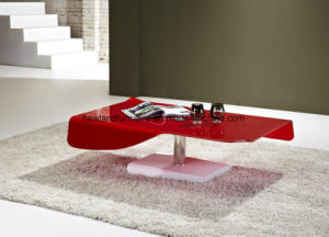 Living Room Glass Furniture of Coffee Table (TB-S110)
