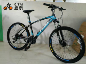 Steel Mountain Bicycle with 21 Speed Gear MTB From China pictures & photos