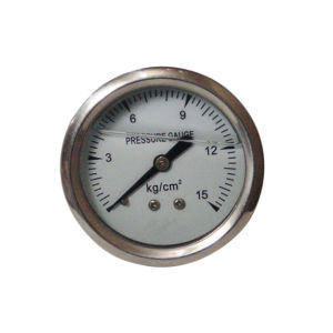 2inch-50mm Half Stainless Steel Back Liquid Filled Pressure Gauge pictures & photos