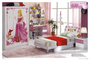 Beautiful Furniture Sleeping Beauty Children Bedroom Set (JB-963)