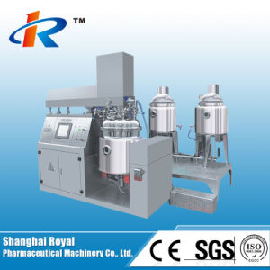 ZRJ-100 Vacuum Homogenizing Emulsifying Machine pictures & photos