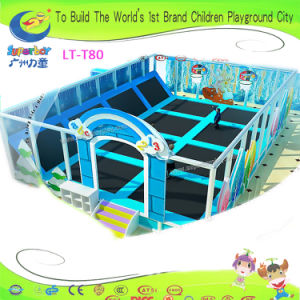 Factory Indoor Playground Toy Equipment Trampoline pictures & photos