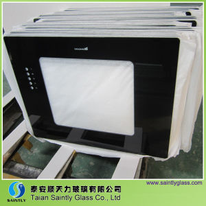 Flat Tempered Printing Glass for Range Hood