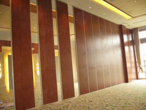 China Manufacturer Aluminium Artistical Classical Wooden Partition Walls