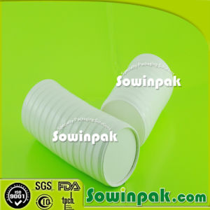Stackable Compostable and Biodegradable Soup Cup Paper Lid -1