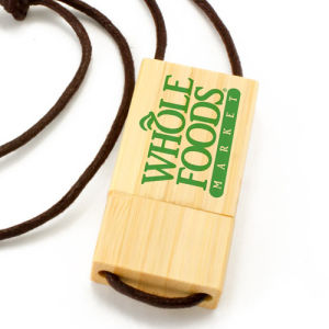 Eco Bamboo USB Eco Wood USB with Lanyard pictures & photos